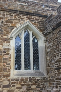 Flitton - St John the Baptist. South aisle, western window.