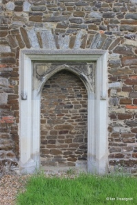 Flitton - St John the Baptist. North doorway.