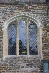 Flitton - St John the Baptist. North window.