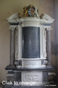 Flitton - de Grey Mausoleum. Lady Elizabeth Talbot.