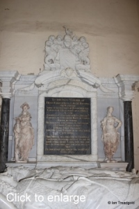 Flitton - de Grey Mausoleum. 10th Earl of Kent, Amabel Benn.