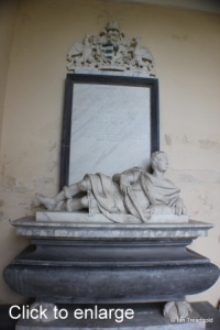 Flitton - de Grey Mausoleum. Anthony de Grey, Earl of Harrold.