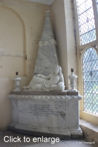 Flitton - de Grey Mausoleum. Henry de Grey.