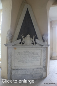 Flitton - de Grey Mausoleum. Amabel de Grey, Lady Glenorchy.