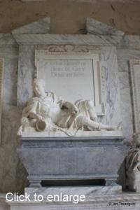 Flitton - de Grey Mausoleum. Henry de Grey, 12th Earl of Kent, 1st Duke of Kent.