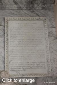 Flitton - de Grey Mausoleum. Jemima Crewe.