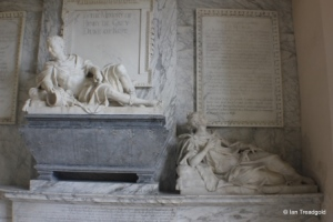 Flitton - de Grey Mausoleum. Henry de Grey, Jemima Crewe.