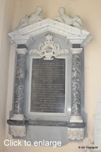 Flitton - de Grey Mausoleum. Amabel Hume-Campbell Countess de Grey.