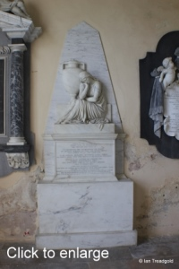 Flitton - de Grey Mausoleum. Jemima, Marchioness Grey.