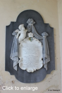 Flitton - de Grey Mausoleum. Mary Jemima.