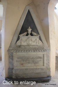 Flitton - de Grey Mausoleum. Anne de Grey, Lady Cavendish.