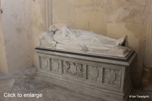 Flitton - de Grey Mausoleum. 2nd Earl de Grey.