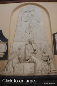 Flitton - de Grey Mausoleum. Henrietta, Countess de Grey.