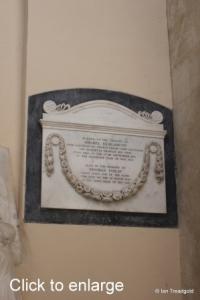 Flitton - de Grey Mausoleum. Amabel Elizabeth.