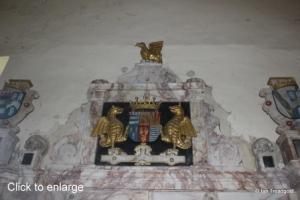 Flitton - de Grey Mausoleum. Henry de Grey, 6th Earl of Kent, Mary Cotton.