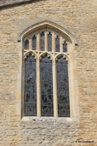 All Saints, Kempston. South aisle, east window.