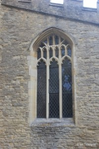 All Saints, Kempston. South aisle, west window.
