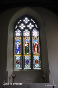 All Saints, Kempston. East window internal.