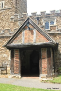 Flitwick - St Peter & St Paul. South porch.