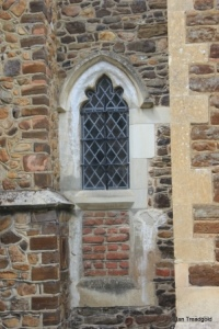 Flitwick - St Peter & St Paul. Chancel, south-west window.