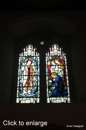 Flitwick - St Peter & St Paul. West window - internal.