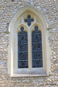 Kensworth, St Mary. South side, central window.