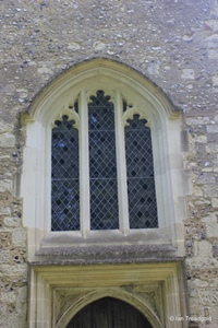 Kensworth, St Mary. West window.