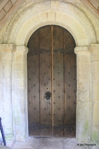 Kensworth, St Mary. South doorway.