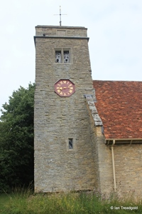 Knotting, St Margaret. Tower from the south.