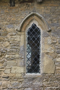 Knotting, St Margaret. Nave, north side, western window.
