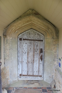 Knotting, St Margaret. South doorway.