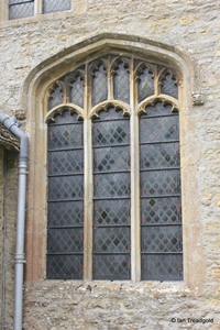 Keysoe, St Mary. South side, eastern window.