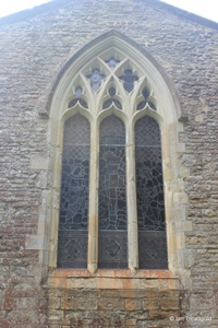 Keysoe, St Mary. East window.