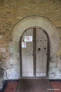 Keysoe, St Mary. South doorway.