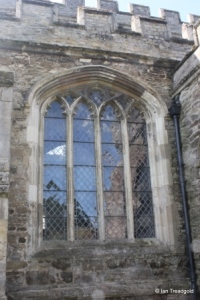 Marston Moretaine - St Mary. North aisle, north window.