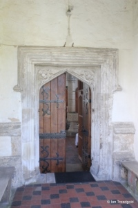Marston Moretaine - St Mary. North doorway.