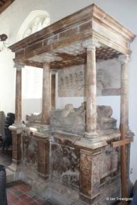 Marston Moretaine - St Mary. Reynes Chapel, Thomas Snagge monument.