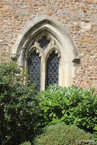 Langford, St Andrew. South tower east window.