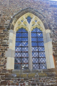 Langford, St Andrew. West end, south window.