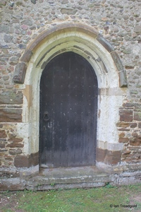 Langford, St Andrew. North doorway.