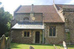 Langford, St Andrew. Vestry.