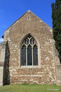 Langford, St Andrew. East window.