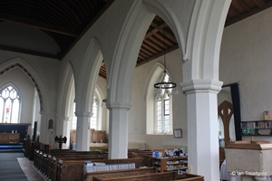Langford, St Andrew. South aisle.
