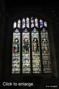 Luton - St Mary. Wenlock Chapel window.