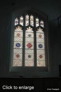 Luton - St Mary. North transept west window internal.