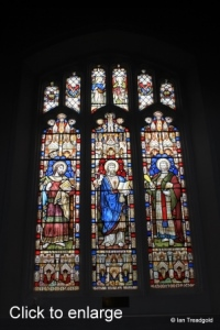 Luton - St Mary. North aisle window internal.