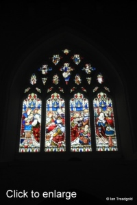 Luton - St Mary. West window internal.