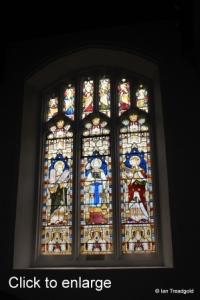 Luton - St Mary. South aisle window internal.