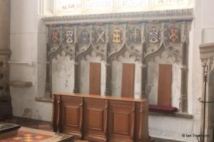 Luton - St Mary. Sedilia.