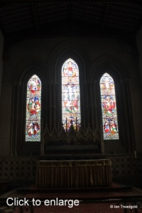 Luton - St Mary. East window internal.